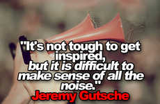 Its Not Tough to Get Inspired