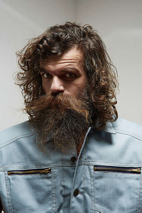Offbeat Lumberjack Lookbooks - The Franziska Eichhorn Catalog Exudes a Rugged Masculinity