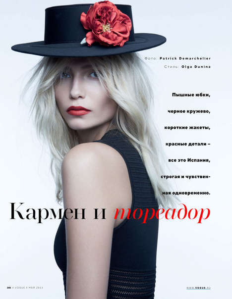 Natasha Poly for Vogue Russia