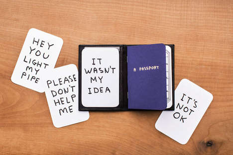 Passport-Inspired Publications - Illustrator David Shrigley Creates The Thing Quarterly Issue 19