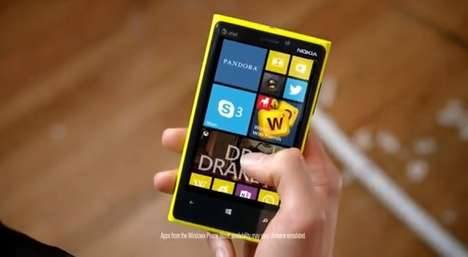 Windows Phone fight ad