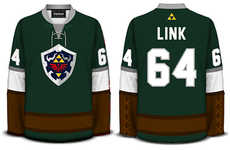 Geeky Meets Sporty with These Sweet Hockey Sweaters from Geeky Jerseys