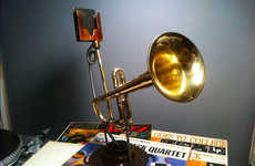 Smartphone Amplifying Trumpets