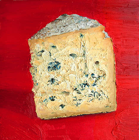 Artisanal Dairy Portraits - Foodie Mike Geno Paints Different Delicious Types of Cheese