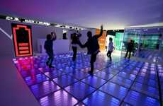 Luminous Power-Harnessing Tiles - The Sustainable Dance Floor Feeds Off of Kinetic Energy to Glow