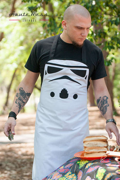 Villainous Sci-Fi Aprons - These Cooking Covers Feature Evil Characters From Star Wars