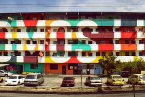 Boa Mistura Revamped an Old Building with a Community Mural Project