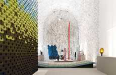 Texture-Enriched Textile Exhibits