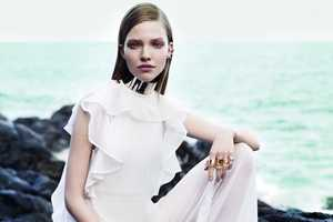 The Vogue China May 2013 Editorial Features Sasha Luss