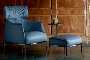 The Archibald King Sofa Lounge Chair is a Luxuriously Cushy Seat