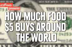 Global Sustenance Statistic Videos - This Video Explores Food Cost Comparison in Countries Worldwide