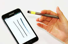 Outside-the-Lines Styluses - The MagPen Concept Challenges the Boundaries of Touchscreen Pointers