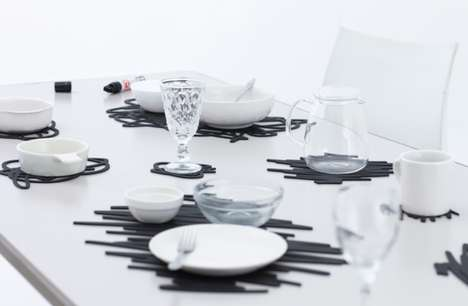 Scribble Table Mats