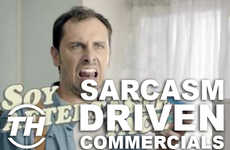Sarcasm Driven Commercials