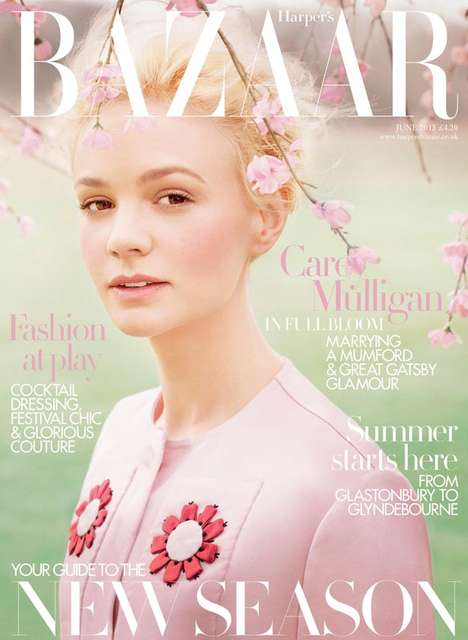 Whimsical Blossom Editorials - The Harper