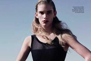 The Elle UK 'Solar Power' Editorial Features Model Ilse de Boer