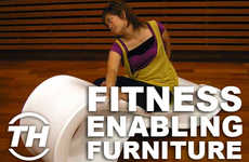 Fitness-Enabling Furniture - Jaime Neely Talks Home Decor Workout Equipment