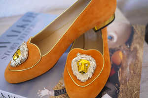 These 'Birthday Shoes' by Charlotte Olympia Celebrates Astrology