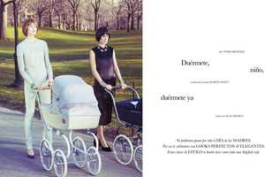 The Elle Mexico May 2013 Editorial Celebrates Mother's Day