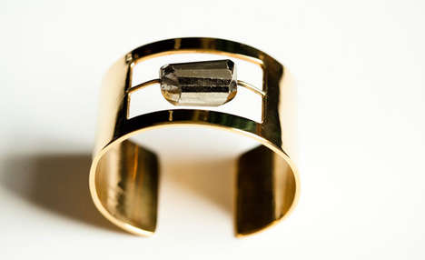 Kelly Wearstler Pyrite Cuff