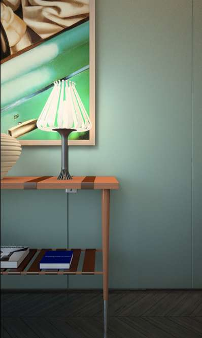 Ray Flower Desk Lamp
