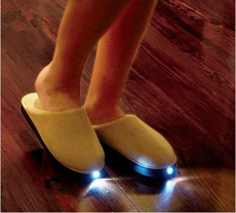 Flashlight Slippers