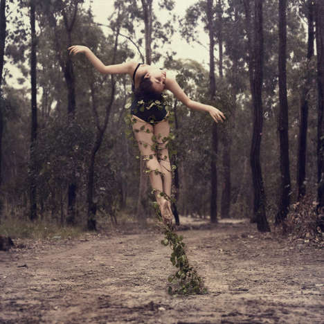 Botanical Dance Photograpy - The Self-Portraits by Former Dancer Ingrid Endel are Stunning