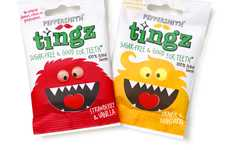 Hungry Beast Branding - Peppersmith Tingz Packaging Bears Teeth for Mouthy Marketing