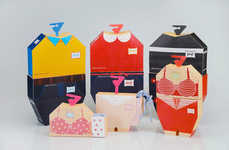 Clothing-Modeled Cartons
