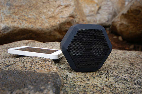 Contemporary Clip-On Speakers - The Boombot REX by Chris McKleroy is Made for Those in Motion