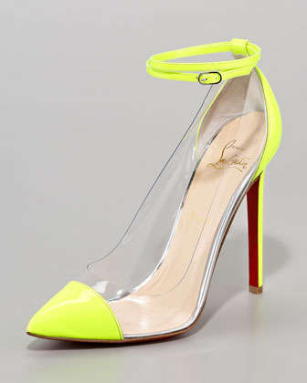 Electrically Vibrant Pumps - These Christian Louboutin Unbout Heels are Viciously Vibrant