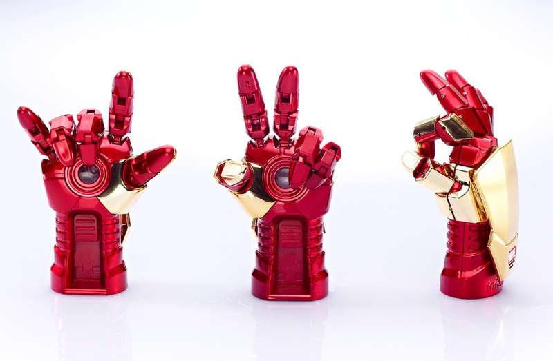 Superhero Gauntlet USBs