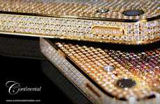 $56,000 Diamond-Encrusted iPhones - Continental Mobiles Delivers Luxury in Security Vehicles