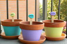 Vibrantly Customized Plant Markers - This DIY Activity Allows You to Differentiate Between Plants