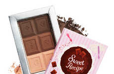 Dessert-Shaped Cosmetics - Shades of Chocolate Wrapped in Sweet Design by Etude House