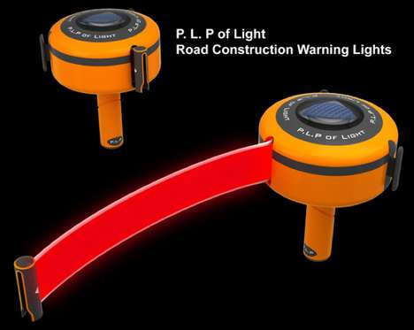 Brilliant Roadwork Barriers - Road Construction Warning Lights Increase Workers