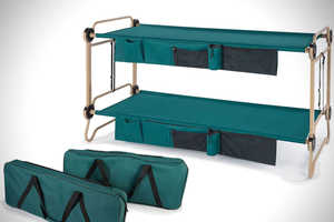 The 'Foldaway Adult Bunk Bed' Will Improve Comfort for Campers
