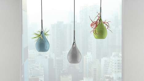 Arboreal Air Purifiers - Air Drop Combines Self-Sustaining Plants and Tech to Clean