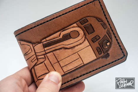 R2-D2 leather wallet