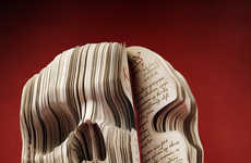 Skull-Carved Books