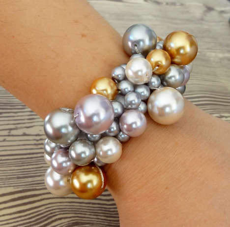20 DIY Bracelet Designs - From Water Bottle Bangles to DIY Clustered Pearl Bracelets
