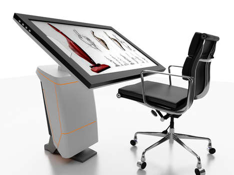 Digital Drafting Tables - The iSpace Workstation Replaces Physical Drawing Tools with Virtual Ones