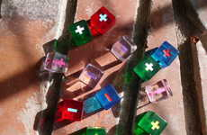Vibrant Role-Playing Dice - Game Play Studio's Fudge Dice are Stanout Game Pieces