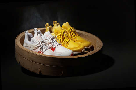 Asian Food-Inspired Footwear - The Dim Sum Project by Hypebeast and PUMA is Delectable