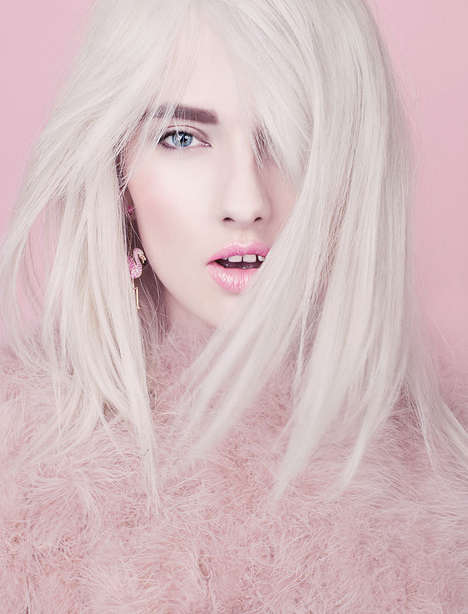 Sublime Pastel-Hued Portraits - The Blossom Image Series by Natalia Madejska is Ethereal