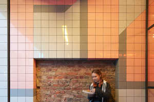 Gundry & Ducker Does Retro NYC Tile Work for Voodoo Ray's UK Restaraunt
