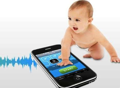 Baby Cry-Translating Apps - The Cry Translator App Will Translate Your Baby's Cries