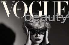 Elegantly Retro Celebrity Editorials - This Vogue Italia Shoot Features Actress Sarah Gadon