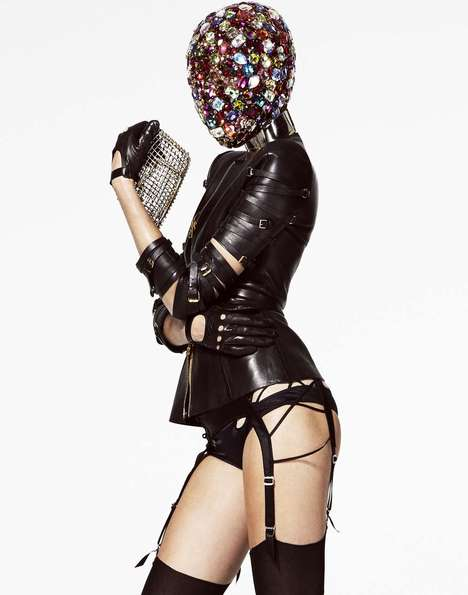 Dark Derby-Inspired Fashion - Leather and Lace Take Over the Derby in the New Jason Kim Editorial