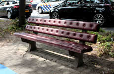 Upholstered Park Benches